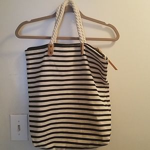 Summer & rose large canvas tote
